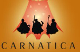 Thiruvarur - graphic of three musicians
