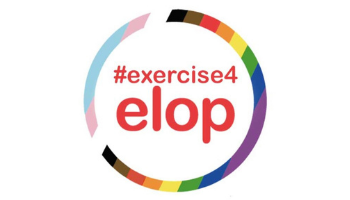 Exercise for Elop logo